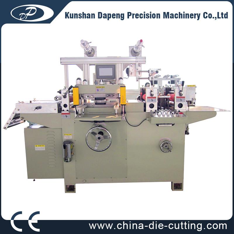 label half cutting machine