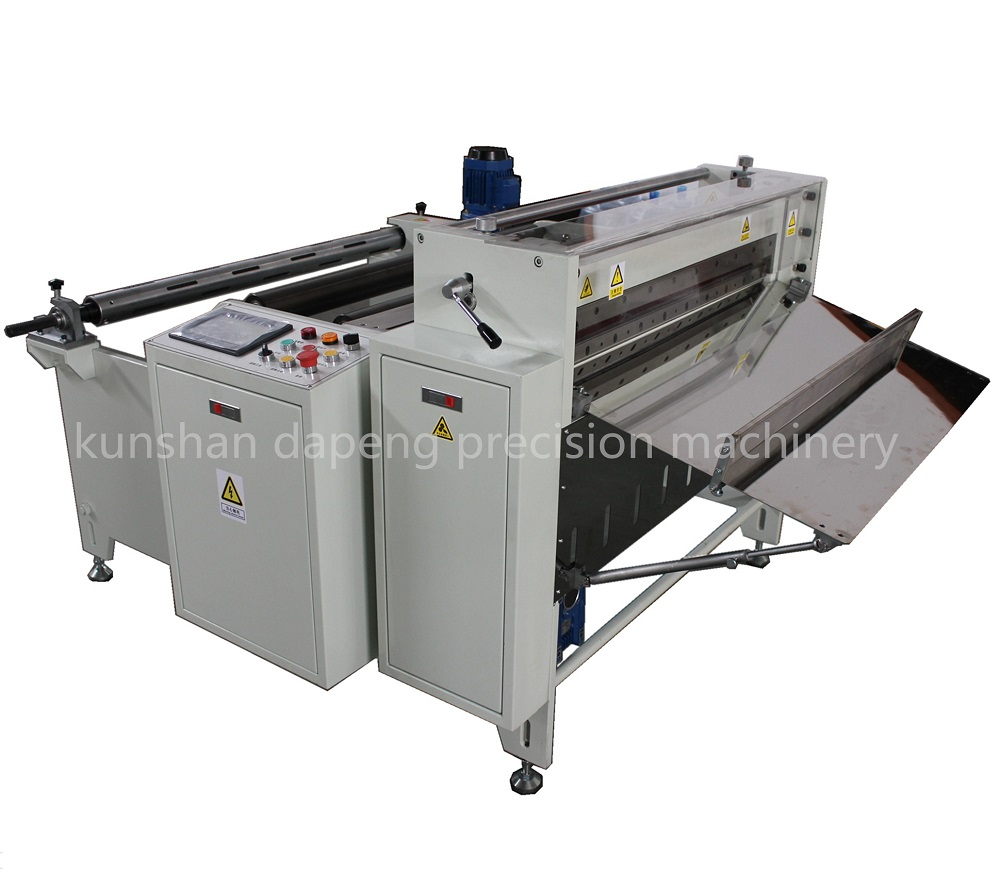 Pet, PC, PVC, PE Film Roll to Sheet Cutting Machine