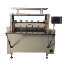 Sheet cutting machine for both kiss cut and through cut function